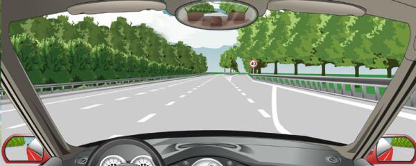 九州娱乐官网网址九州娱乐备用网址驶离高速公路时,在这个位置怎样行驶?