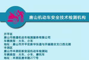 唐山机动车技术安全检测机构汇总