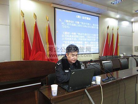 冀中公安局交警支队刘源同志事迹材料