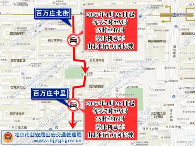 北京这些道路该单行 您千万别走错