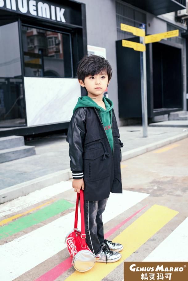精灵玛可酷风尚童装加盟品牌 不仅是时尚潮