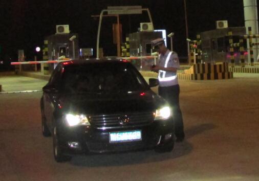 围场高速交警开展夜查行动 成效显著