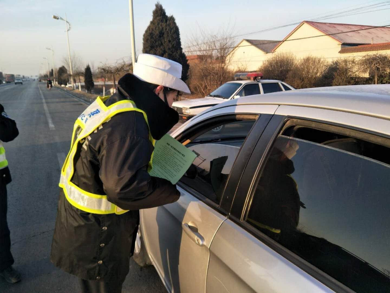 全省公安交警春运交通安全宣讲团进企业送安全