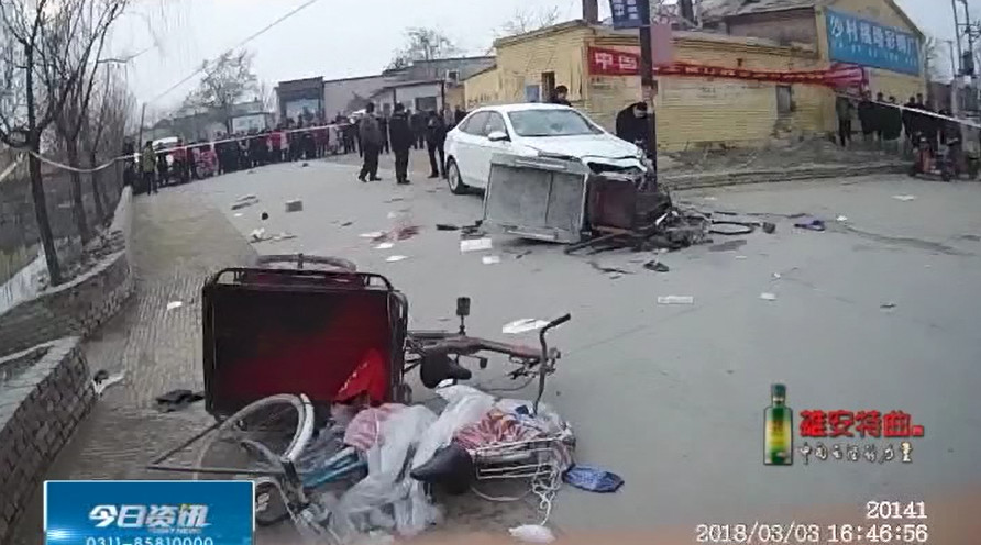 农村酒驾频发,引发伤亡!事故现场惨不忍睹