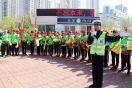 """""""创城,我们来啦!""""沧州交警动员百名健走者共搭畅通平台"""