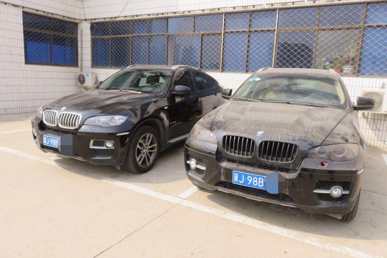 """车型、车牌、车架号都一样,沧州街头出现""""双胞胎宝马"""""""