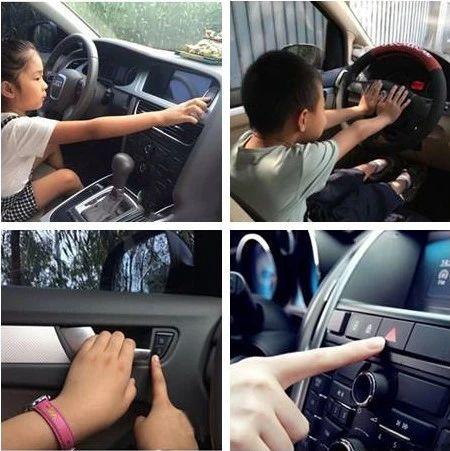 炎炎夏日,切勿把孩子单独留在车里,后果惨重!