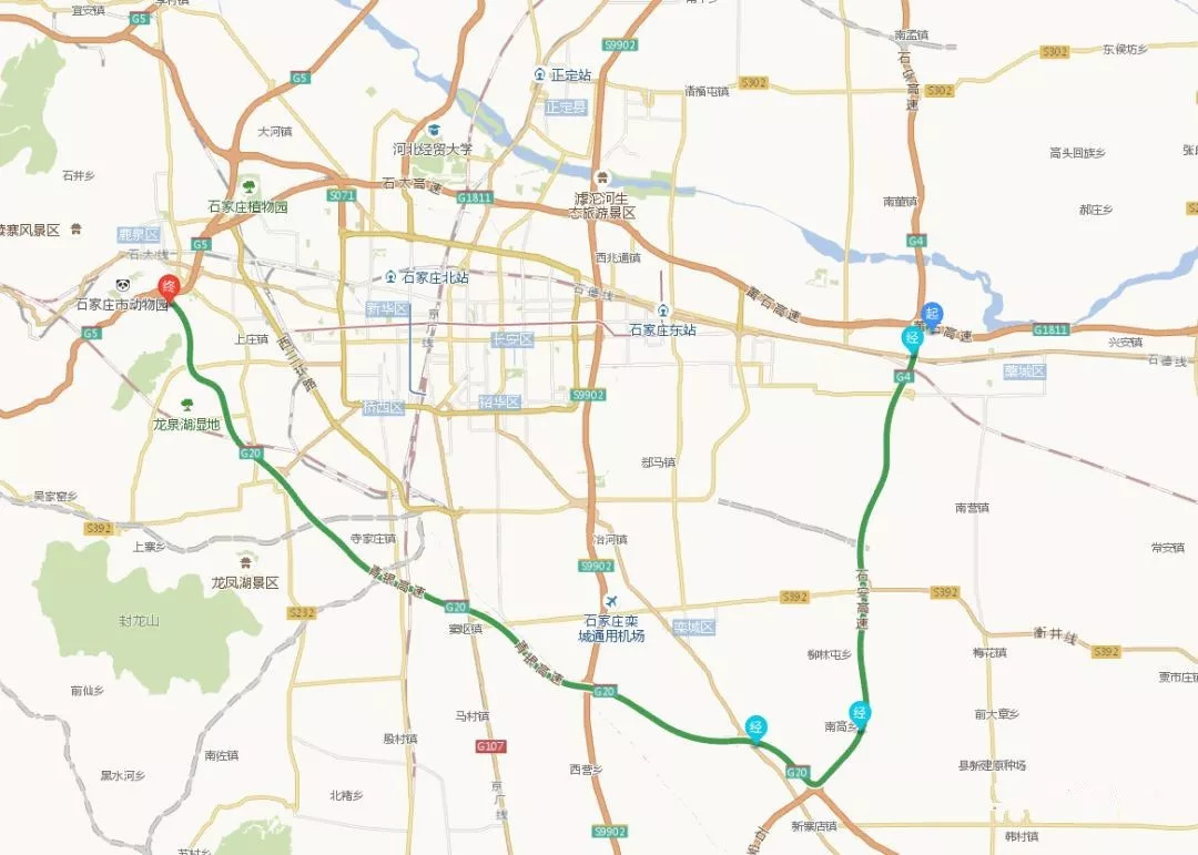 黄石高速藁城至石家庄段将于25日改扩建!绕行线路看这里!