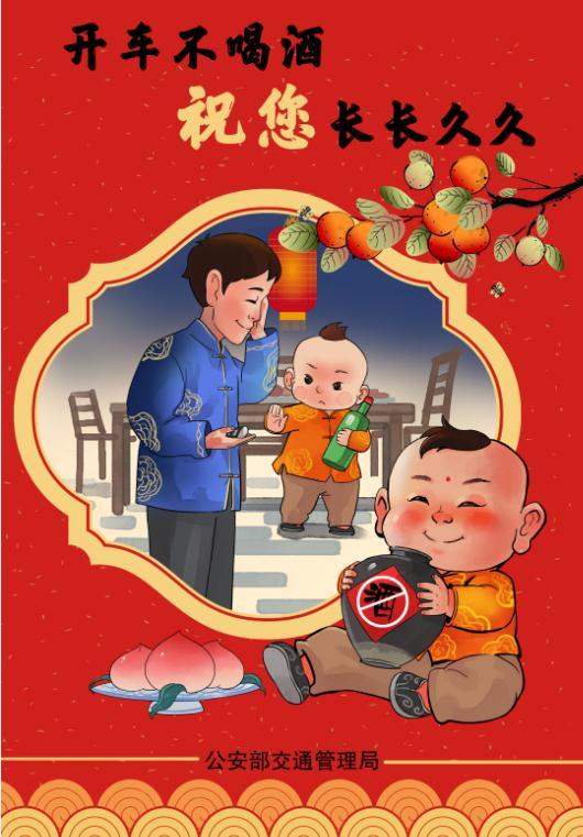 部局-春运海报-喜庆版5张