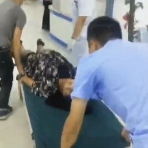 孕妇突遇车祸受伤 交警一路护送入院