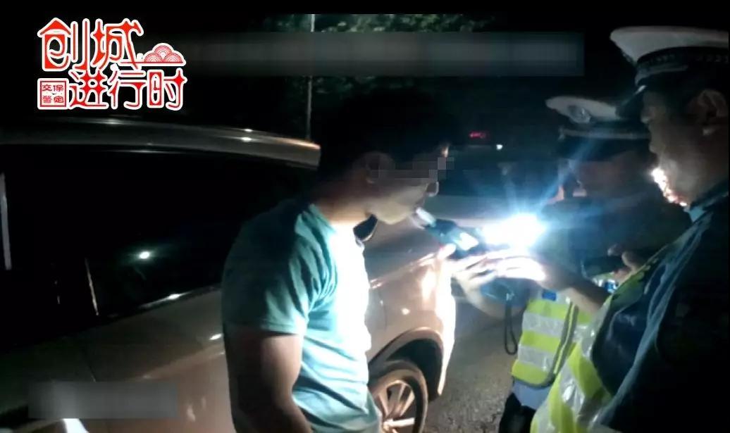 男子酒后驾车被查,竟然还是无证驾驶套牌车!