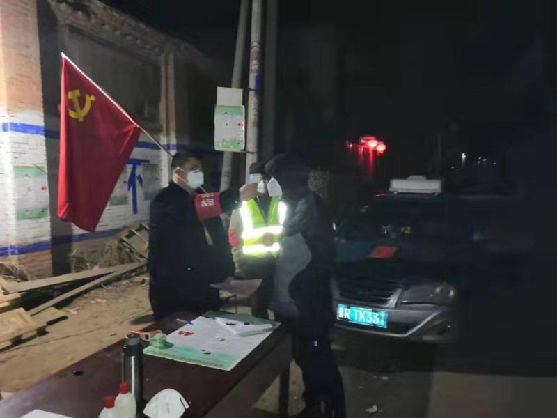 廊坊:疫情当前不退缩,党员民警勇担当