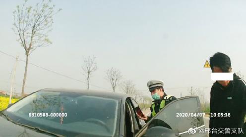 邢台:南和交警一日内查处两起无证驾驶机动车违法行为