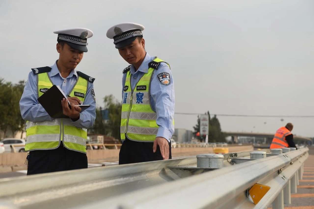 河北公安交管部门开展公路交通安全隐患排查整治行动