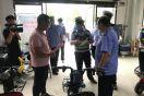 无极县公安局交警大队联合质量监督局加强电动车管理