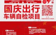 省交管局国庆提示海报5张